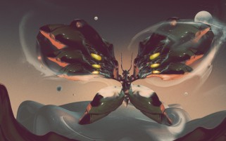 Creative Butterfly Digital Art wallpapers and stock photos