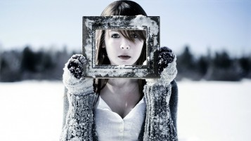 Winter Portrait wallpapers and stock photos