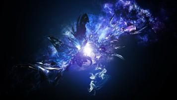 Digital Blue Abstract Light wallpapers and stock photos