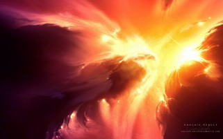 Abstract Phoenix Outer Space wallpapers and stock photos