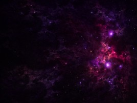 Random: Purple Outer Space & Stars