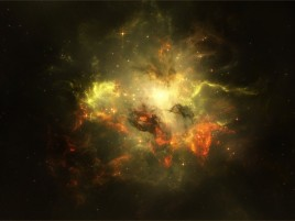 Lightning Galaxy Nebulae wallpapers and stock photos