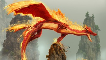 Red Dragon wallpapers and stock photos