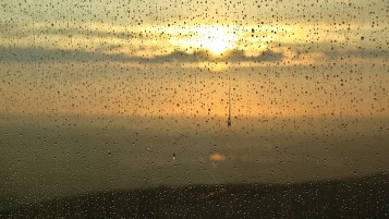 Sunset Rain Drops wallpapers and stock photos