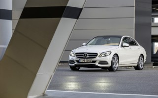 2014 Mercedes-Benz C-Class C250 BlueTec Avantgarde Static wallpapers and stock photos