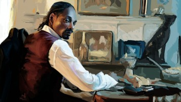 Random: Snoop Dog Portrait