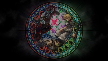 Kingdom Hearts Stained Glass wallpapers and stock photos