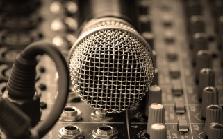 Studio Microphone wallpapers and stock photos