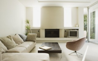 Random: Clean and Modern Living Room