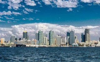 San Diego Skyline wallpapers and stock photos