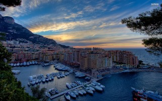 Monaco City Seven wallpapers and stock photos