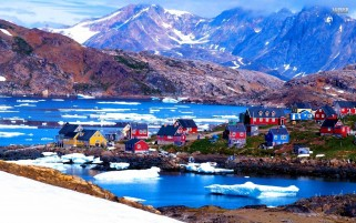 Kulusuk Greenland wallpapers and stock photos
