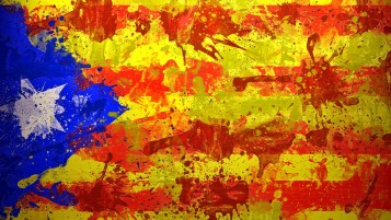 Catalan Flag wallpapers and stock photos