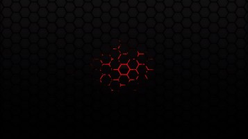 Random: Red Hexagons