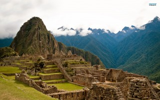 Machu Picchu One wallpapers and stock photos
