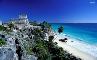 Tulum Riviera Maya Mexico wallpapers and stock photos