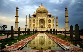 Taj Mahal Temple India wallpapers and stock photos