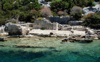 Kekova Island Turkey wallpapers and stock photos