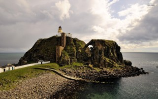 Sanda Island Scotland wallpapers and stock photos