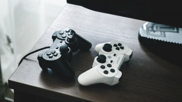 PlayStation Dualshock Controllers wallpapers and stock photos