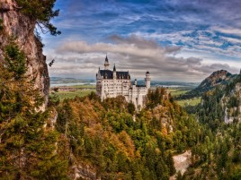 Bavaria Neuschwanstein Castle wallpapers and stock photos