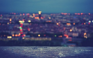 Blurred City Lights wallpapers and stock photos