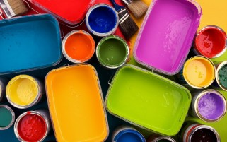 Random: Multicolored Paint