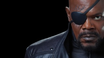 Nick Fury Close-up wallpapers and stock photos