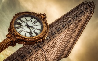 Flatiron Building New York City wallpapers and stock photos
