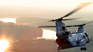 CH-46 Sea Knight wallpapers and stock photos