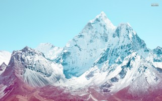 Snow White Peaks wallpapers and stock photos