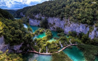 Plitvice Lake National Park wallpapers and stock photos