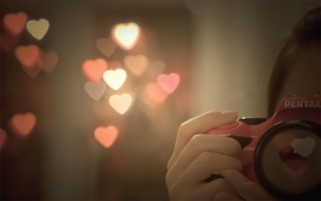 Hearts Bokeh wallpapers and stock photos