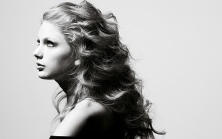 Taylor Swift Side Portrait wallpapers and stock photos
