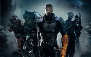 Mass Effect 3 Characters wallpapers and stock photos