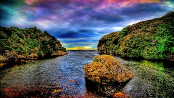 Colorful Scenery & River wallpapers and stock photos