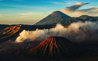 Volcanoes Bromo Indonesia wallpapers and stock photos