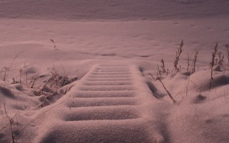 Snowy Stairways Finland wallpapers and stock photos