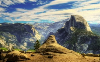 Mountain Peak Lookout Point wallpapers and stock photos