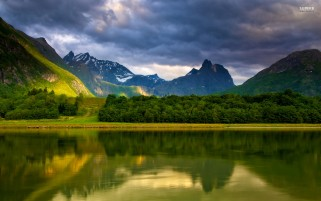 Romsdalen Norway wallpapers and stock photos
