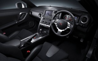 Nissan GT-R R35 Interior wallpapers and stock photos