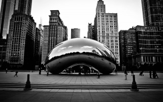 Chicago Buildings wallpapers and stock photos