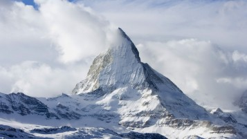 Matterhorn Mountain Peak wallpapers and stock photos