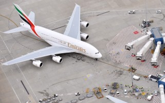 Previous: Airbus A-380 Fly Emirates