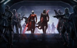 Knights of the Old Republic Kunstwerk wallpapers and stock photos