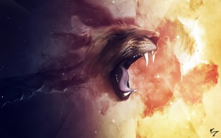 Lion Roar wallpapers and stock photos
