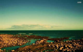 Rocky Shore wallpapers and stock photos