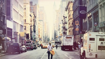 New York City Strets wallpapers and stock photos