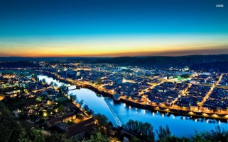 Random: Cahors At Night France