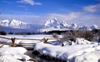Grand Tetons wallpapers and stock photos